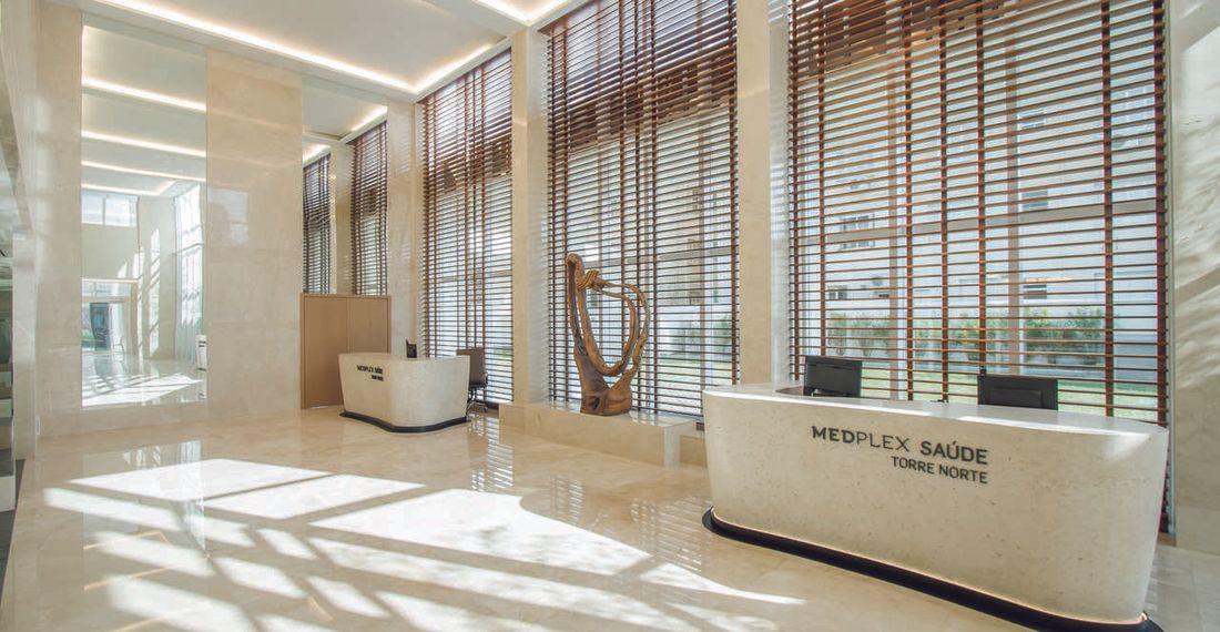 Medplex Santana - Lobby Torre Norte